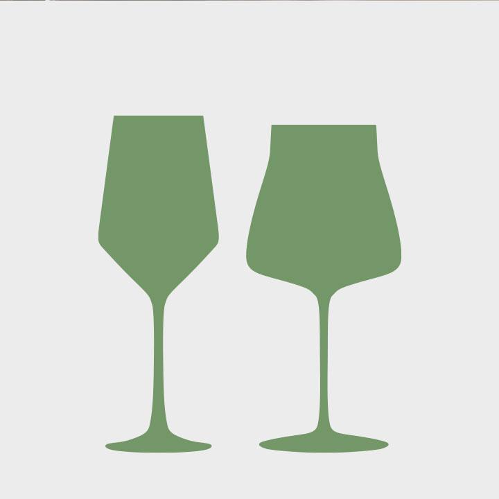 Das richtige Weinglas macht den Unterschied! Haben Sie den