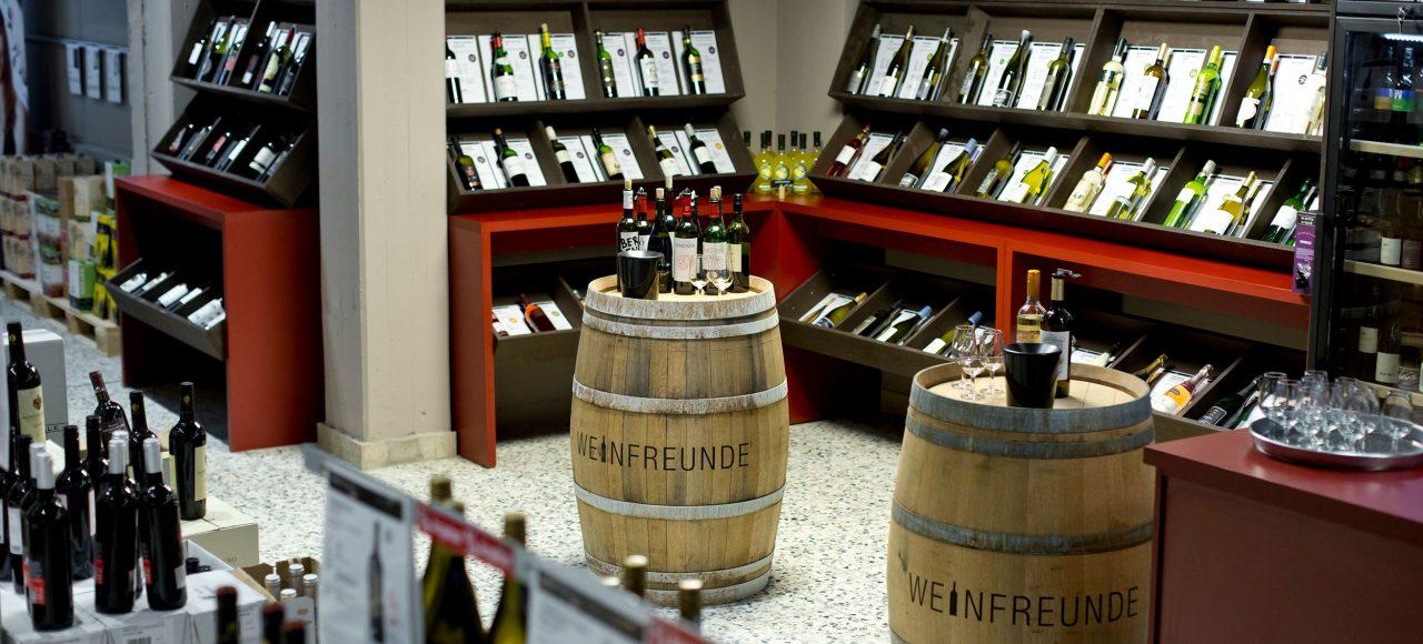 Weinfreunde Depot