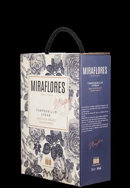 Miraflores Tempranillo-Syrah (Bio) Bag-in-Box - 3,0 L