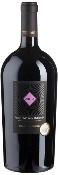 Zolla Primitivo di Manduria - 1,5 L-Magnum