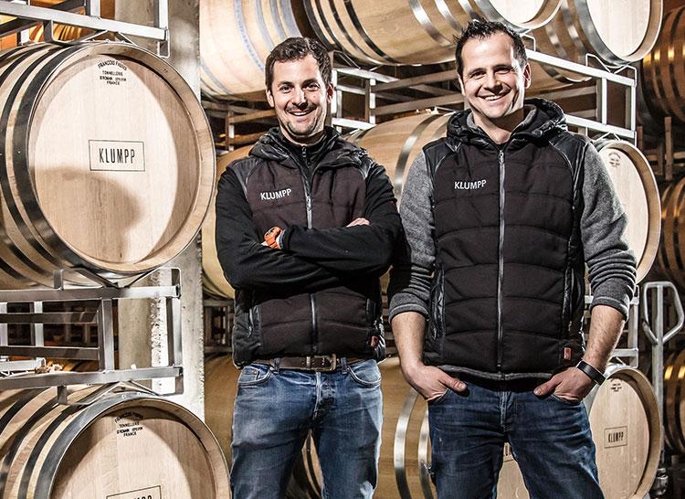 Andreas und Markus Klumpp