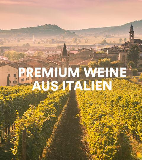 Premium Weine aus Italien