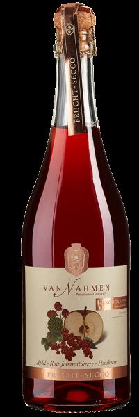Frucht-Secco Apfel-Rote Johannisbeere-Himbeere alkoholfrei