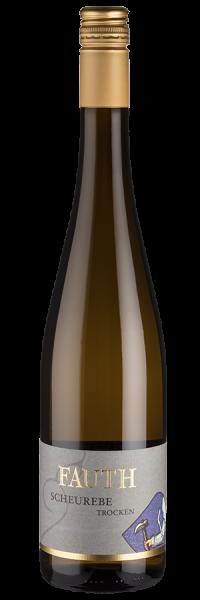 102 Scheurebe trocken - 2017 - Fauth - Weißwein