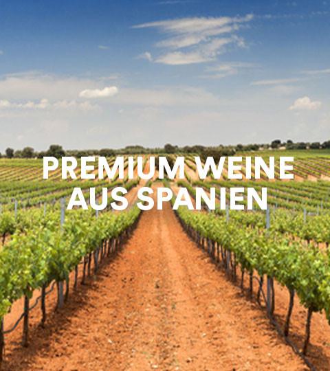 Premium Weine aus Spanien