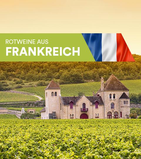 Rotweine aus Frankreich