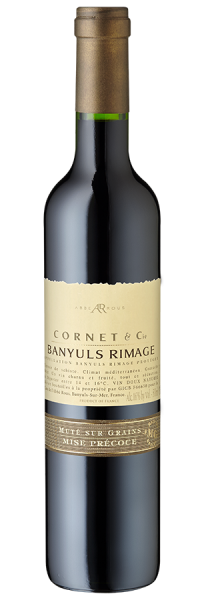 Cornet & Cie Banyuls Rimage - 0,5 L 2017