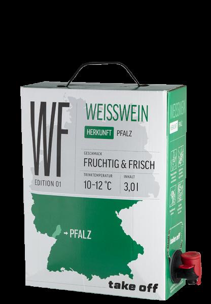 Take off Cuvée Weiß Bag-in-Box - 3,0 L
