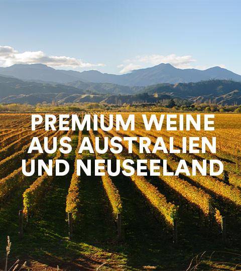 Premium Weine aus Australien & Neuseeland