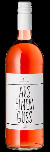 Aus einem Guss Rosé halbtrocken - 1,0 L