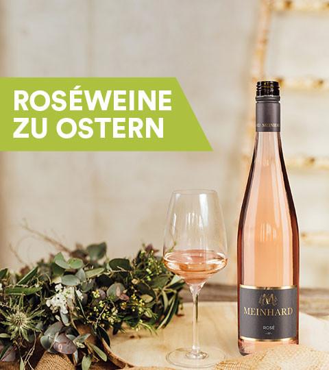 Roséwein zu Ostern