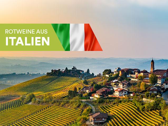 Rotweine aus Italien