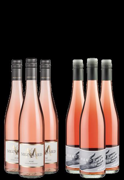 6er-Paket Deutscher Rosé Zauber - Weinpakete