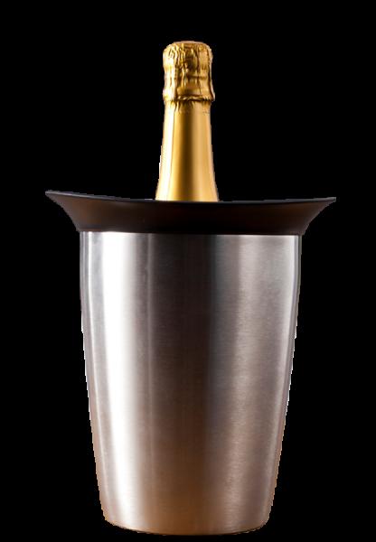 Champagnerkühler Edelstahl