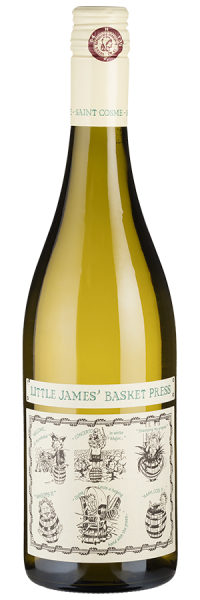 Little James' Basket Press Blanc