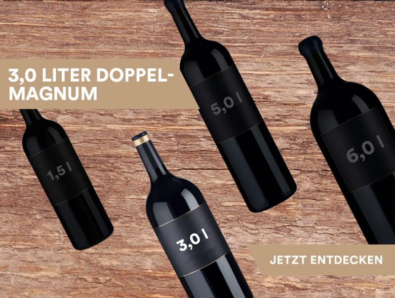 3,0 Liter Doppelmagnum