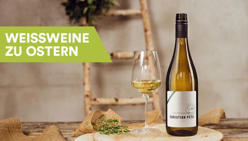 Weißwein zu Ostern