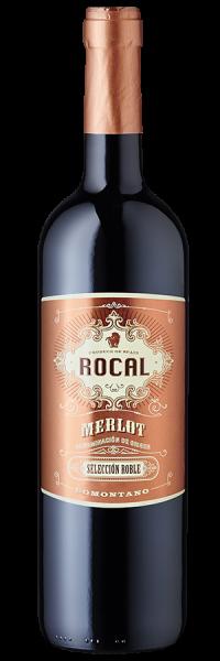 Rocal Merlot Selección Roble Somontano 2016