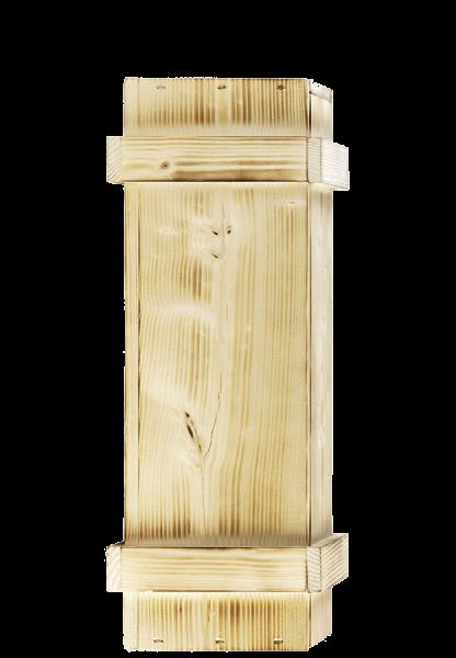 Holzkiste für 1 Flasche