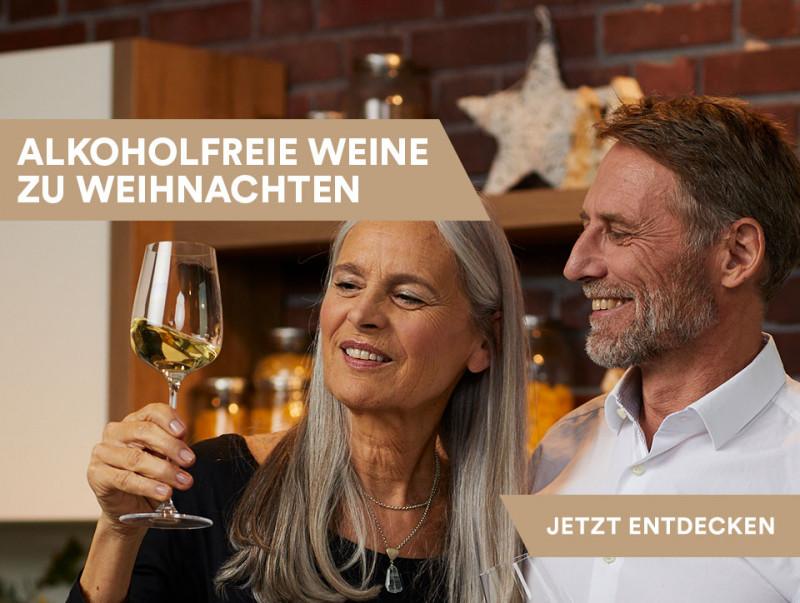 Alkoholfreie Weine zu Weihnachten