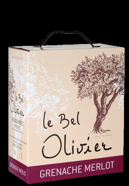 Le Bel Olivier Grenache & Merlot Bag-in-Box - 3,0 L