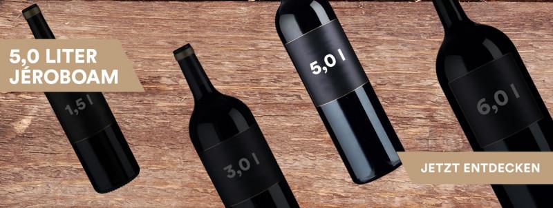 5,0 Liter Jéroboam