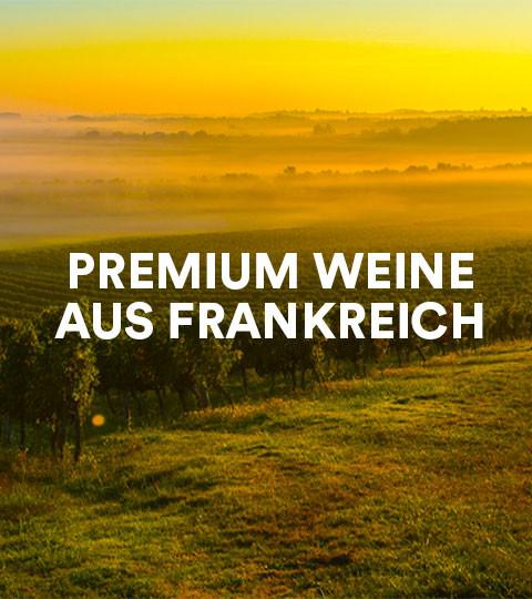 Premium Weine aus Frankreich