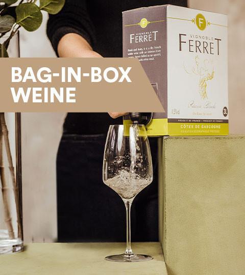 Bag-in-Box Weine