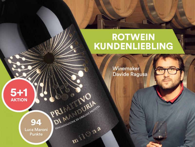 Rotwein Kundenliebling