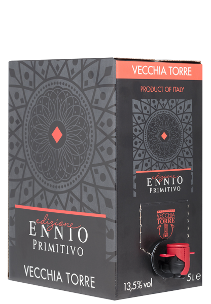 Edizione Ennio Primitivo Bag-in-Box - 5,0 L